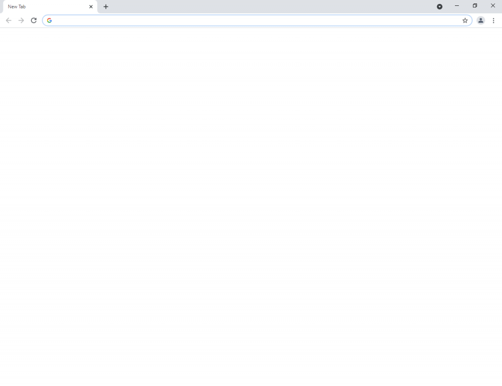 Chrome Blank Page
